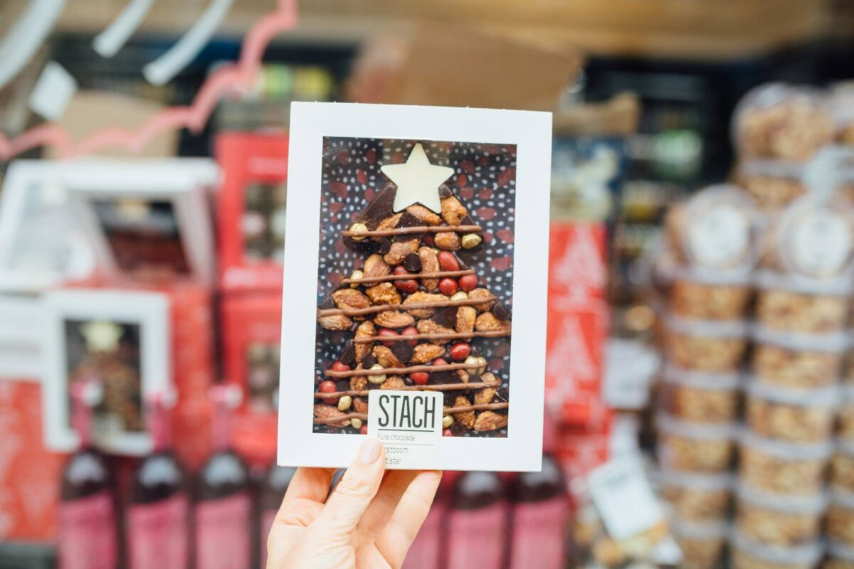Stach Chocolade Kerstboom Sfeerfoto - Yipp & Co