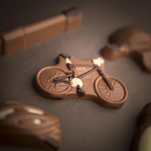 Kerstchocolade Fiets set - Yipp & Co