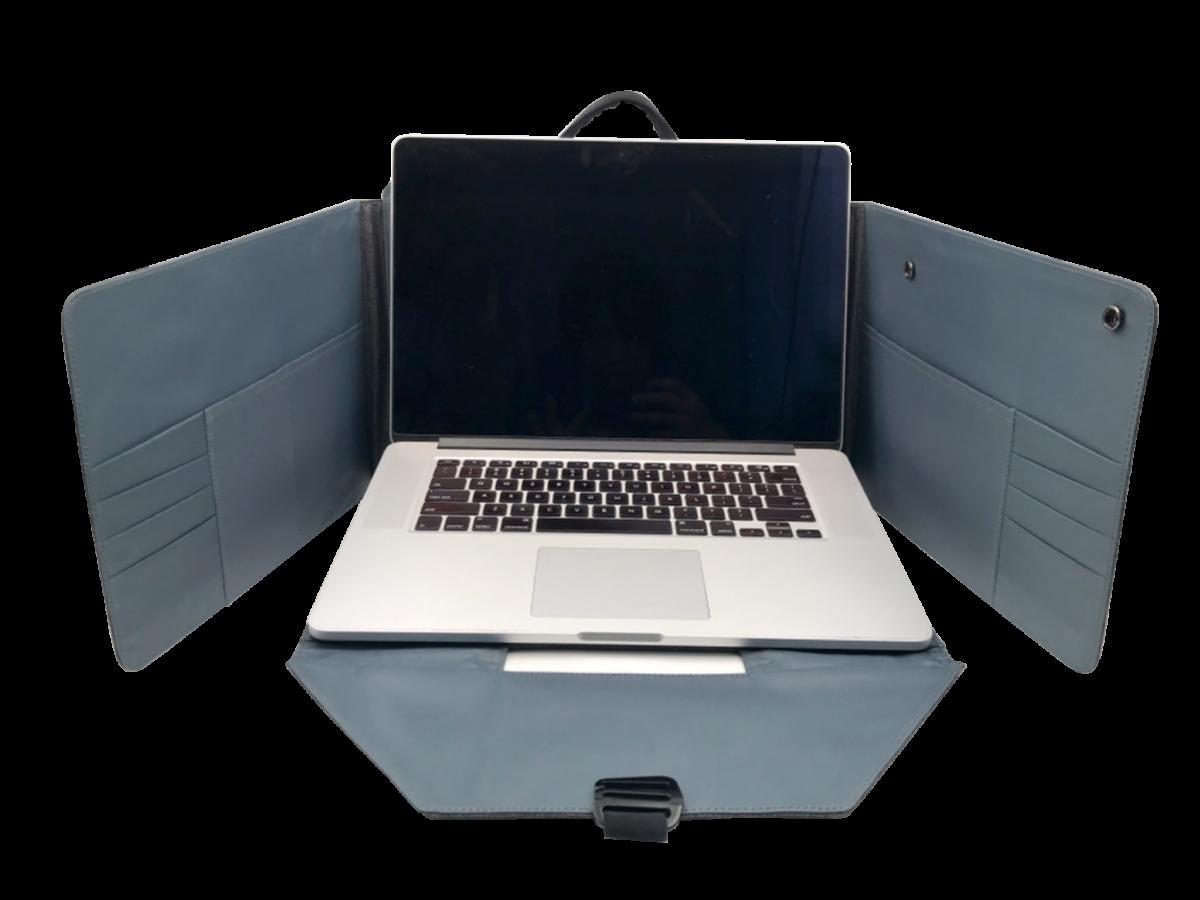 Spector 2 Flexbag Laptop opengeklapt - Yipp & co