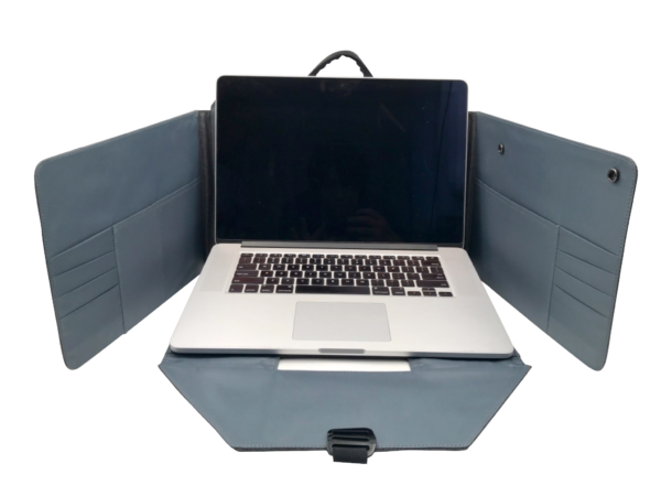Spector 2 Flexbag Laptop opengeklapt - Yipp & co