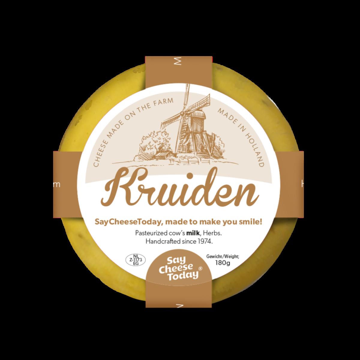 Brievenbus kaasjes 180 grams kruiden - Yipp & Co.