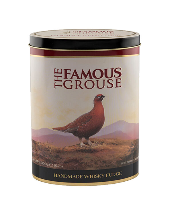 Whiskey Luxury Fudge Tin Famous Grouse - Yipp & Co