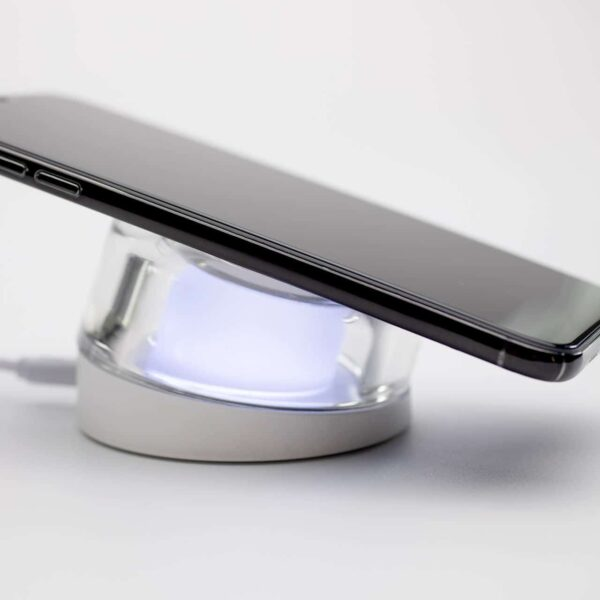 Draadloze lader met LED sfeerfoto - Yipp & Co