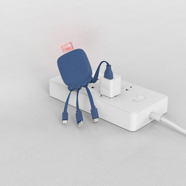 Octopus Oplaadkabel met powerbank sfeerfoto - Yipp & Co