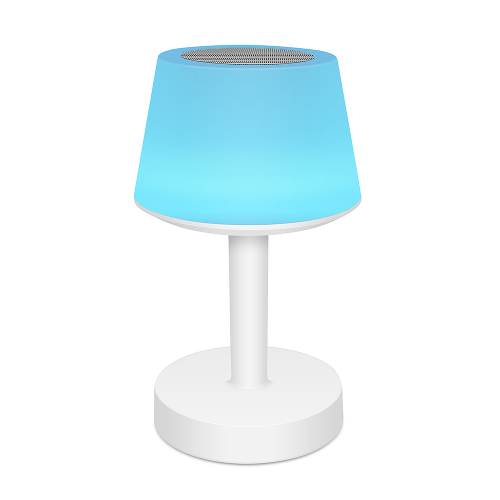 Tafellamp Speaker moodlight lichtblauw- Yipp & Co