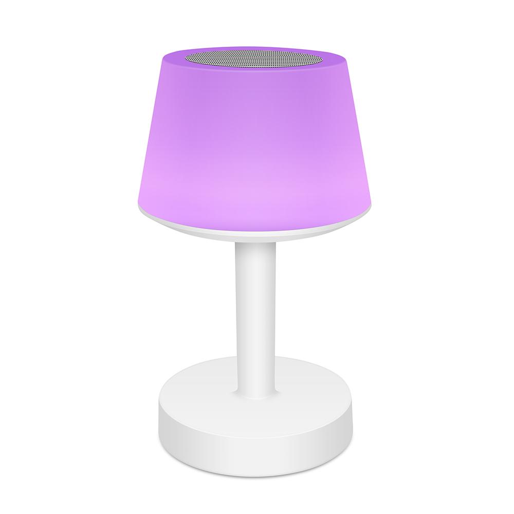 Tafellamp Speaker moodlight paars- Yipp & Cop