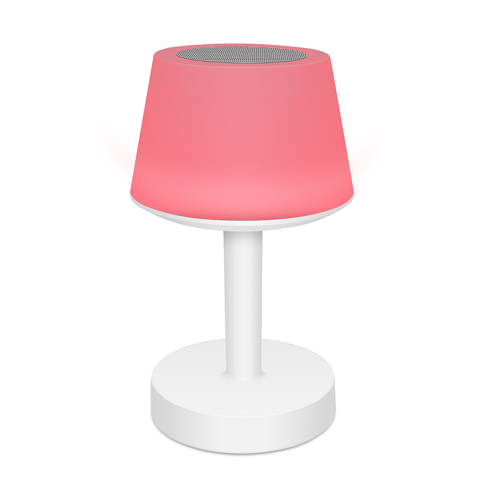 Tafellamp Speaker moodlight rood - Yipp & Co
