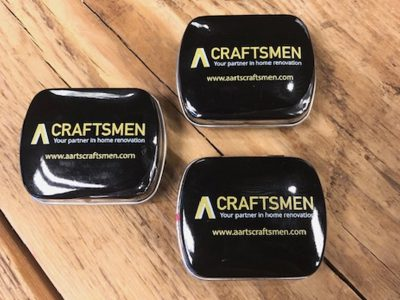 A Craftsmen - Scharnierblikje Pepermunt