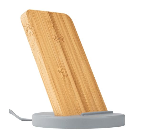Draadloze oplaadstandaard betonlook