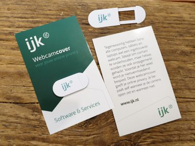 Ijk - Webcam Cover Businesscard