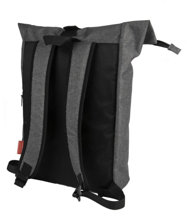 rPET Backpack Roll-top achterzijde - Yipp & Co