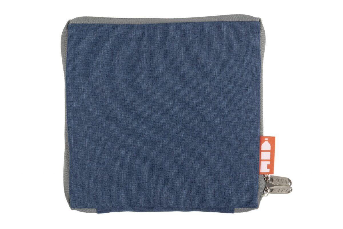 rPET draagtas opvouwbaar blauw fold - Yipp & Co