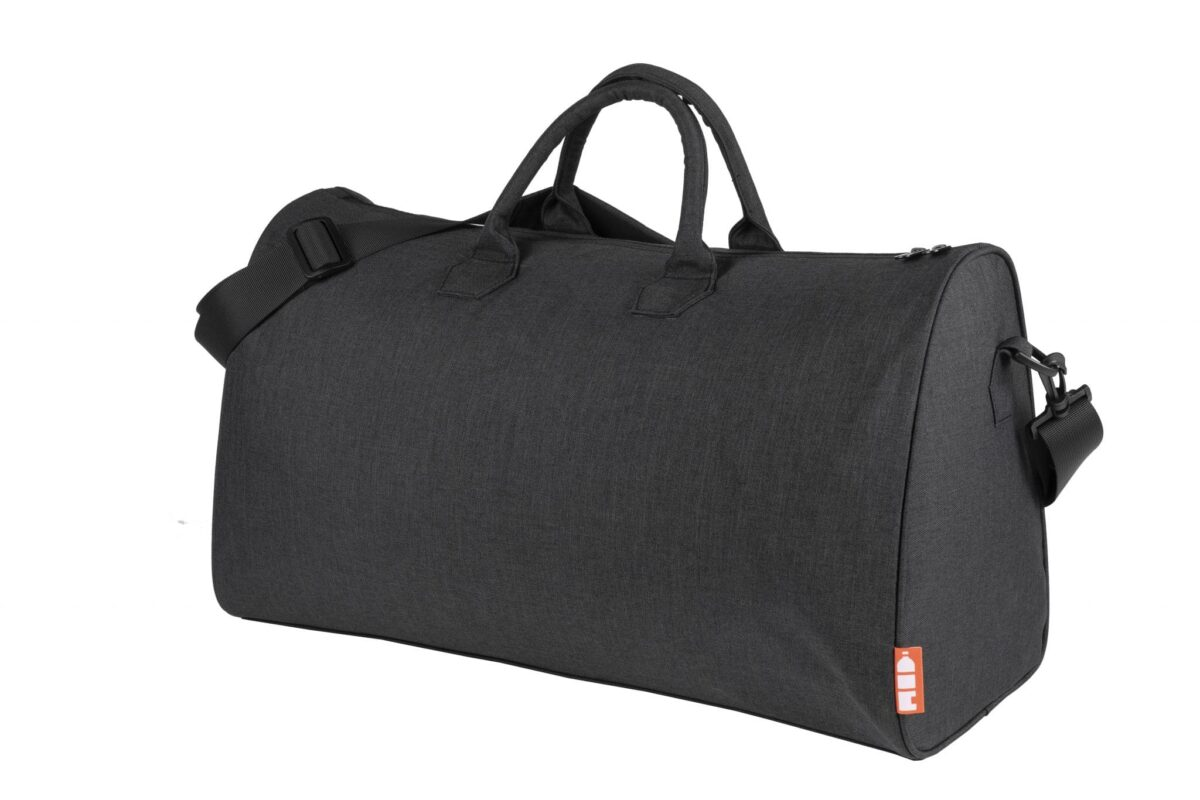 rPet duffel bag zwart - Yipp & co