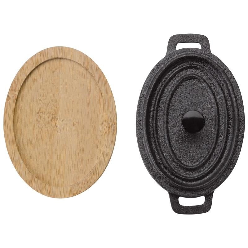Mini Gietijzeren Pan bovenzijde - Yipp & Co