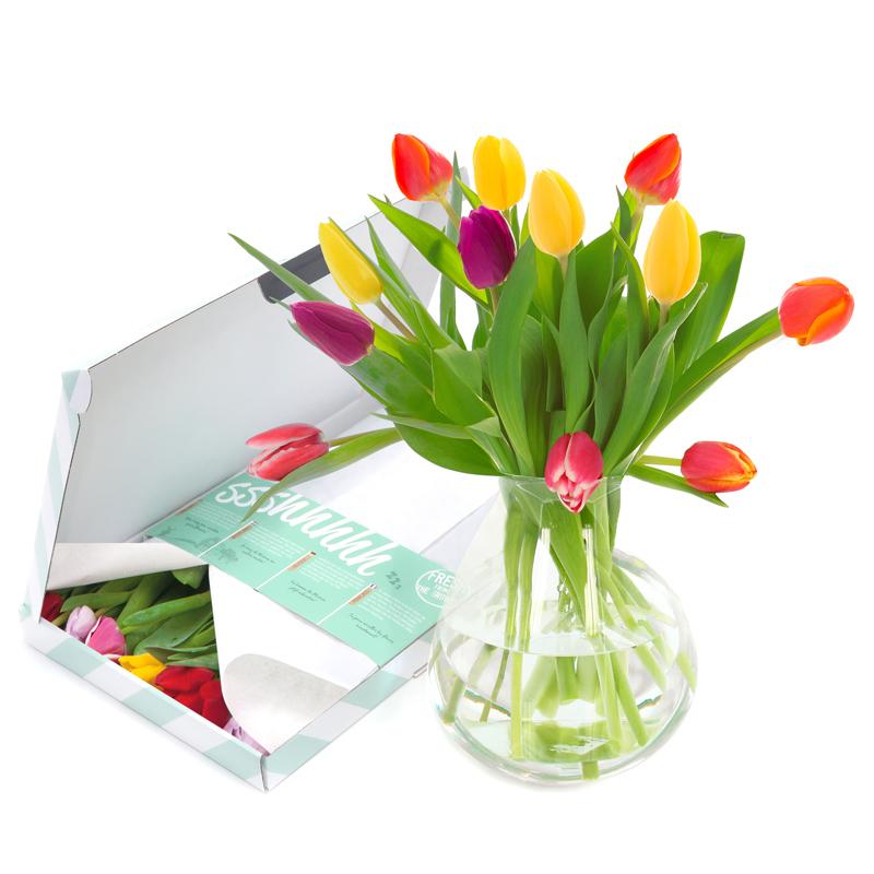 Brievenbusgeschenk Rozen & Tulpen 1 - Yipp & Co